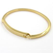 Cadeaux de Noël en or Bracelet en acier inoxydable Bijouterie à la mode