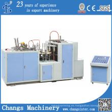 Máquina formadora de vasos de papel (papel revestido de PE de 2 lados serie JBZ-S)