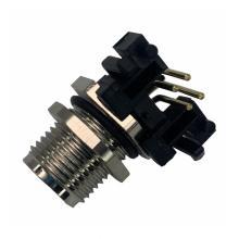 Connecteur M12 4 broches mâle à angle droit montage PCB