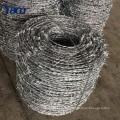 China Lieferanten Stacheldraht Gewicht pro Meter, Stacheldrahtrollen Zaun