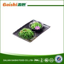 Salada japonesa de algas com gergelim / wasabi / repolho frio com sabor de pimenta vermelha