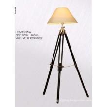 Lampshade Tripod Standing Floor Lamp