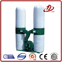 Wood pleated bag dust collector