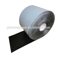 Bitumen rubber based adhesive polyethylene wrap tape for underground pipe