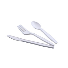 6.5 INCH CPLA spoon biodegradable spoon