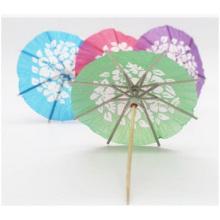 Creative Color Paper Umbrella Fruits Sign/Fruit Cocktail Umbrella