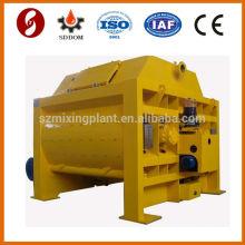 KTSB1500 double shaft mixer concrete mixers 1.5m3