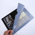 Оптовая заказной печатных ПВХ книги Обложка пластиковая книга папку в Гуанчжоу