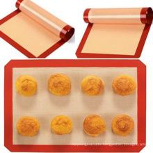 Wholesale Non-Stick Silicone macaron baking mat