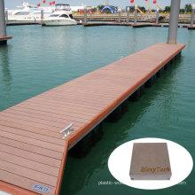 Anti-Slip WPC Marine/Dock Timer Floor