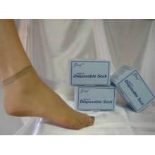 Nylon Try on Socks One-Time Sock Disposable Socks
