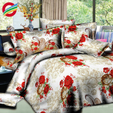 beautiful modern fabric printing bed sheet for sets