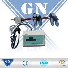 Medidor de flujo másico de gas con totalizador digital