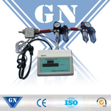 Sensor de flujo de gas con pantalla digital