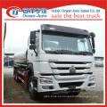 SINOTRUK HOWO 6X4 20000L manual de caja de cambios de agua potable camión proveedor