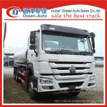 SINOTRUK HOWO 6X4 rueda motriz 20000liters tanque agua potable camión venta