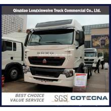 Компания sinotruk T7h с колесной формулой 6x4 430ЛОШАДИНАЯ грузовик с прицепом