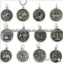 Stainless Steel Pendant Zodiac Pendant Pendant Necklace Manufacture