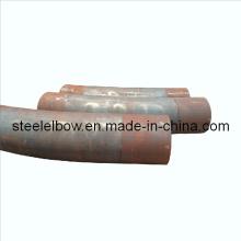 Curva de encaixes tubulação de aço carbono pressionado quente