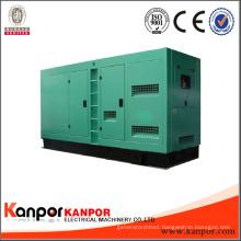 Brand Engine 800kVA Water Cooled Open Silent Type Diesel Generator OEM Factory