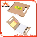 Custom Paper File Folder with Colorful Sticky Note and Memo Pad (FM401)