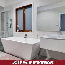 Vanité de Cabinets de salle de bains à haute brillance fixés au mur (AIS-B010)