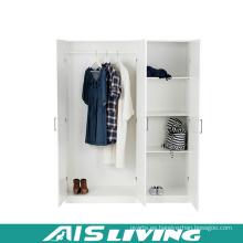 Armario de armario de dormitorio de madera contrachapada de alto brillo de alta calidad (AIS-W263)