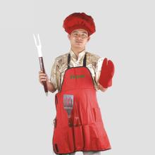 Conjunto de ferramentas 5pcs para cozinha e churrasco
