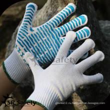 SRSafety 10 калибра Трикотажная пунктирная хлопчатобумажная перчатка / рабочие перчатки