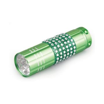 brightest small flashlight 9 LED