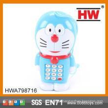Elétrica plástico BlueToy Cartoon Mobile Phone
