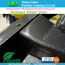 antigassing antibubble powder coating for cast