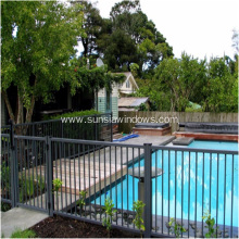 Aluminum Black Decoration Swimming Pool Fencing