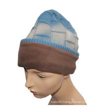 Light Blue Knitted Hat for Boy (GKA0401-F00002)