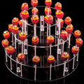 3 Tier Lillipop Display Stand Acryl Tischplatte Riser