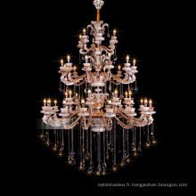 Lustres de cristal égyptien énorme hôtel classique utilisé luminaires grand lustre 88628