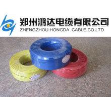 Hausverdrahtungsmaterial Kupferdraht isoliertes elektrisches Material