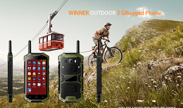 WINNER OUTDOOR 3 GRugged Phone