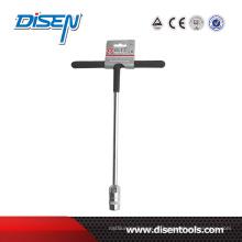 6-19mm CRV PVC Handle T Torque Socket Wrench