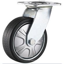 Тяжелый поворотный верхний пластинчатый подшипник PU Caster