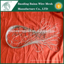 Flexible Metall Seil Mesh Bag / Bergsteigen Mesh Mini Größe Seil Tasche Beschützer / Seil Mesh Bag