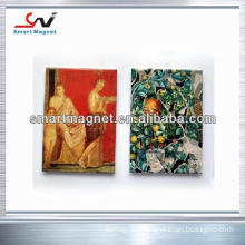 copper paper non toxic manufacture printed-logo pvc magnet