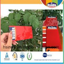 Revestimento brilhante vermelho do pó da aplicação eletrostática da pintura de Ral 3002