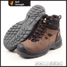 Industrial Leather Safety Shoes with Steel Toecap (SN5136)