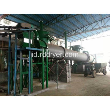 Hyg Rotating Barrel Drying machinery untuk Rotating Material