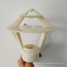Boquilla de pulverización de torre de enfriamiento de rociadores de cabeza plástica