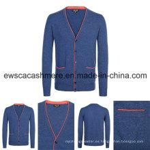 Hombre Indie Pop Top Grade Pure Cashmere Knitwear