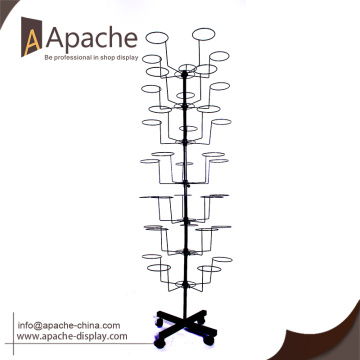 Hot selling!!!China supply hat display rack with Good quality
