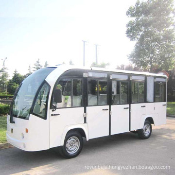 Electric Shuttle Bus Sightseeing Bus with Long Roof (DN-14F)