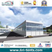 Triple Decker Tent / Double Decker Tent Two Storey Tent as Exhibition